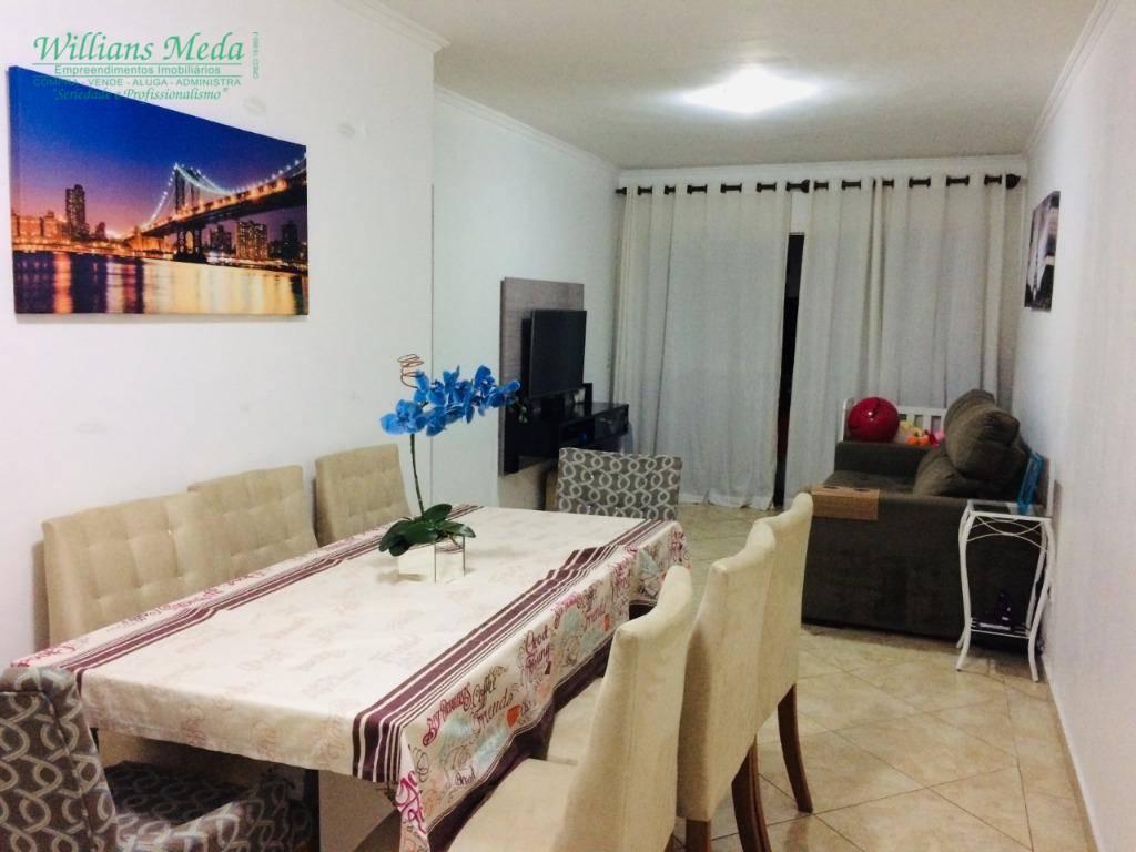 Apartamento com 1 dormitório à venda, 55 m² por R$ 249.000 - Vila Augusta - Guarulhos/SP
