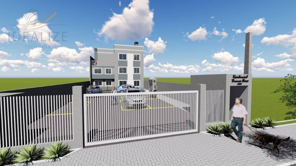 Apartamento com 03 quartos e terraço, Parque da Fonte, São J