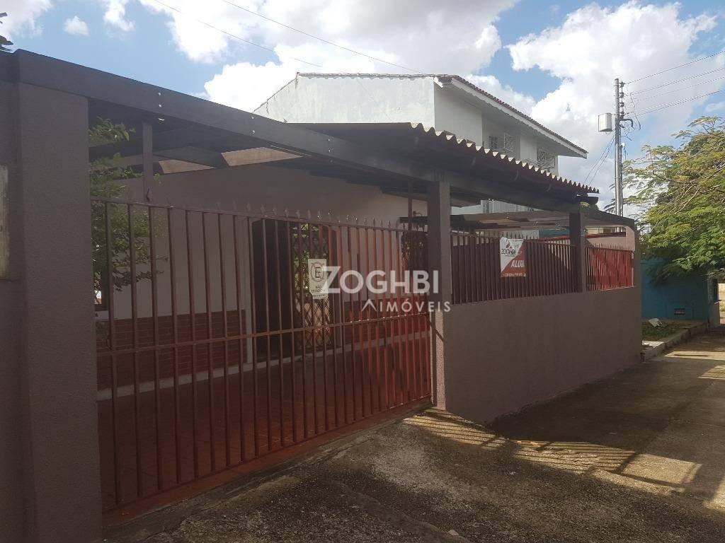 Casa com 2 dormitórios para alugar, 180 m² por R$ 2.200/mês - Centro - Porto Velho/RO