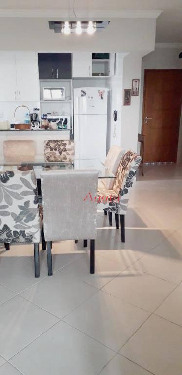Apartamento com 2 dormitórios à venda, 92 m² por R$ 340.000 - Aviação - Praia Grande/SP