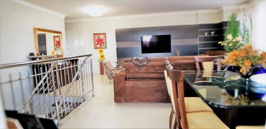 Cobertura Duplex 4 Suítes, 218 m², mobiliada na 106 Sul - Dubai