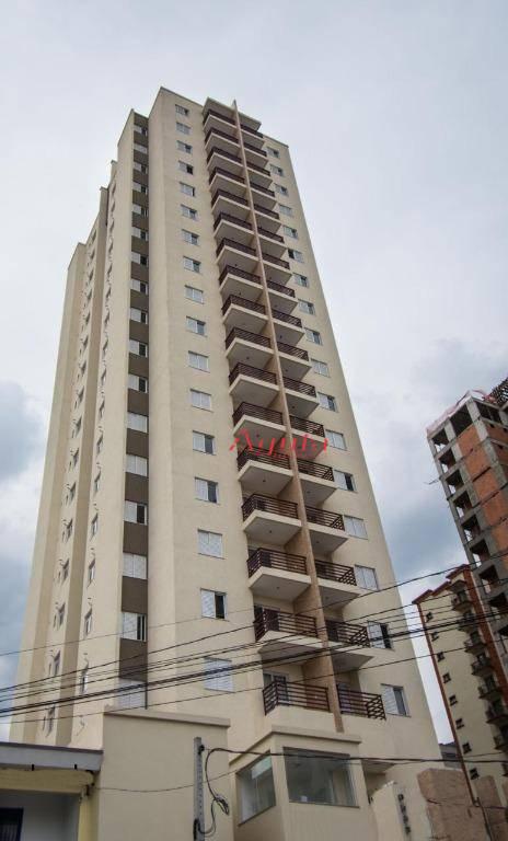 Apartamento com 2 dormitórios à venda, 58 m² por R$ 325.000 - Parque das Nações - Santo André/SP