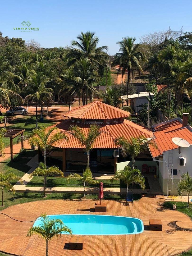 Chácara à venda, 9900 m² por R$ 850.000,00 - Chácaras Beira Rio - Rondonópolis/MT