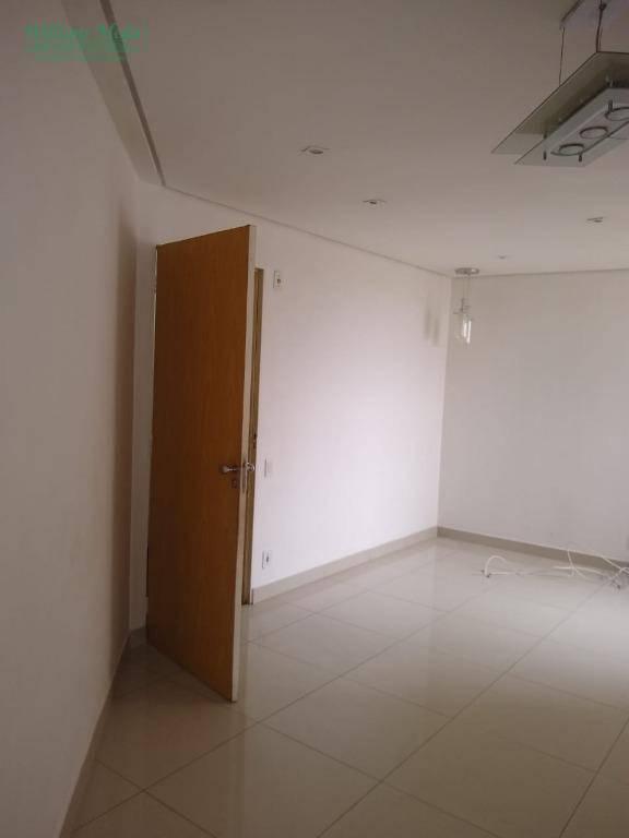 Apartamento com 2 dormitórios para alugar, 55 m² por R$ 1.000/mês - Jardim Terezópolis - Guarulhos/SP