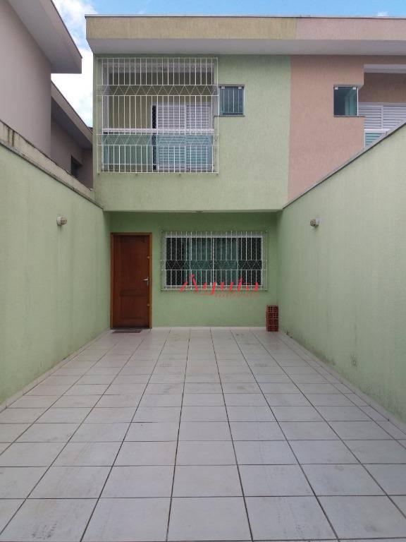 Sobrado com 3 dormitórios à venda, 120 m² por R$ 500.000 - Jardim Ocara - Santo André/SP