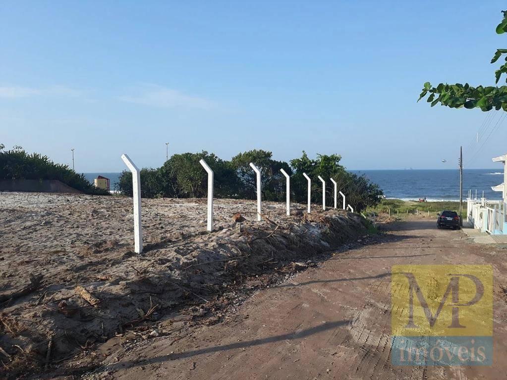 Terreno Frente ao Mar, Ponta do Jacques, Balneário Piçarras - TE0244.