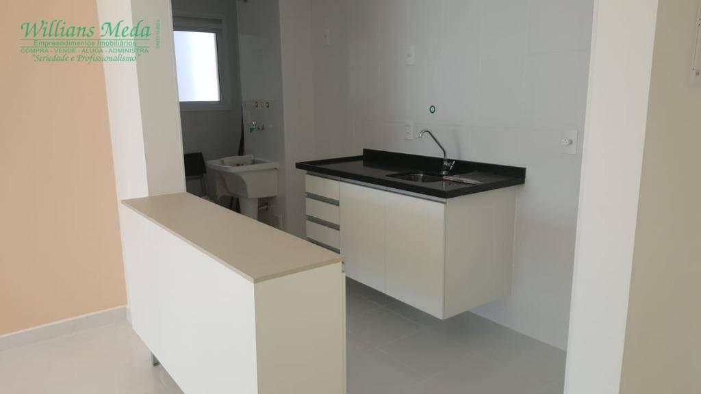 Apartamento com 2 dormitórios para alugar, 86 m² por R$ 2.500/mês - Jardim Flor da Montanha - Guarulhos/SP