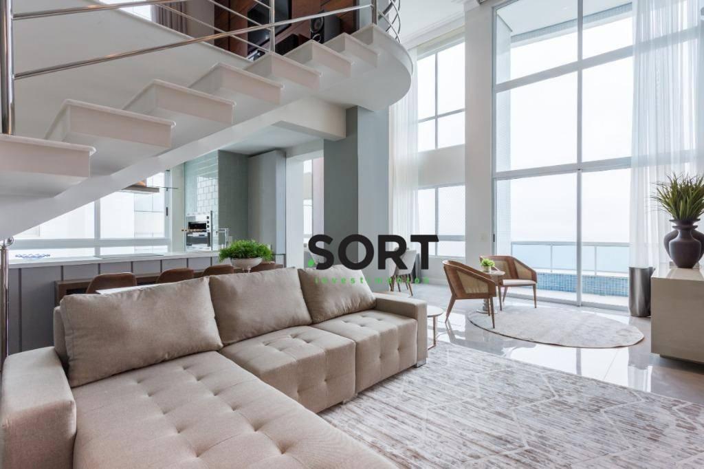 Apartamento Frente Mar, Locação Porto Vita, Balneário Camboriú