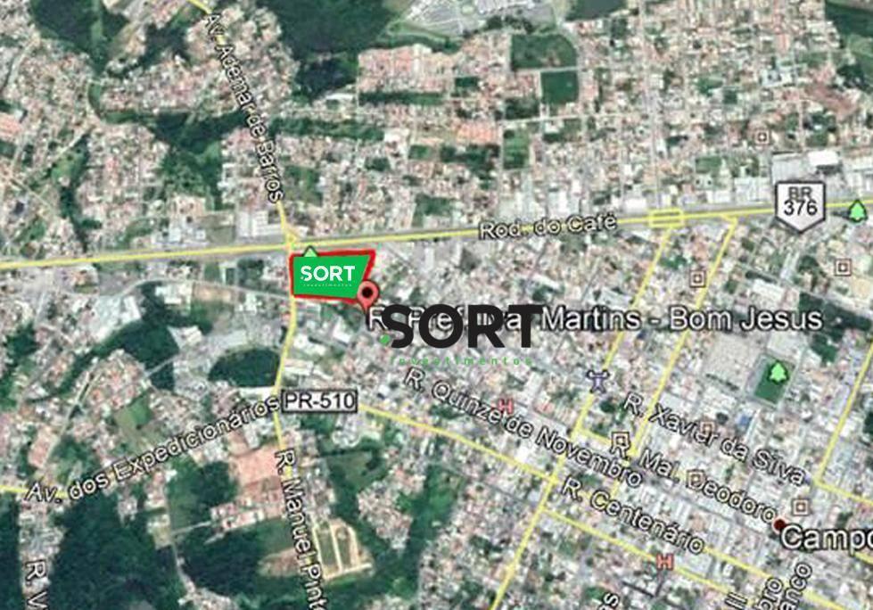 Terreno em Campo Largo, 11565 mt²