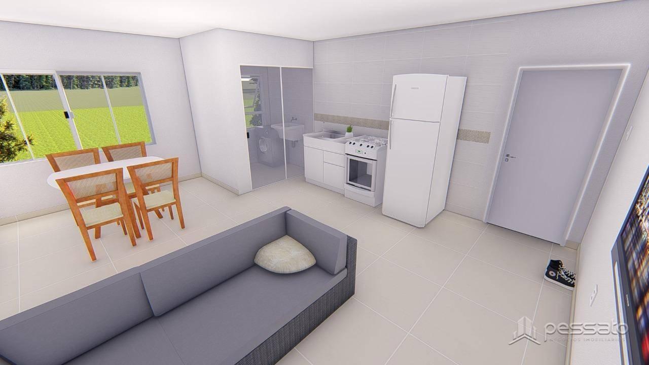 apartamento 2 dormitórios em Gravataí, no bairro União