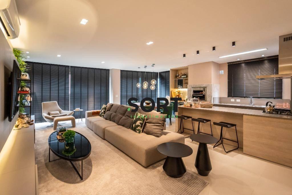 Aartamento Edifício Baturité Lounge House, 4 suítes, 3 vagas de garagem, Balneário Camboriú