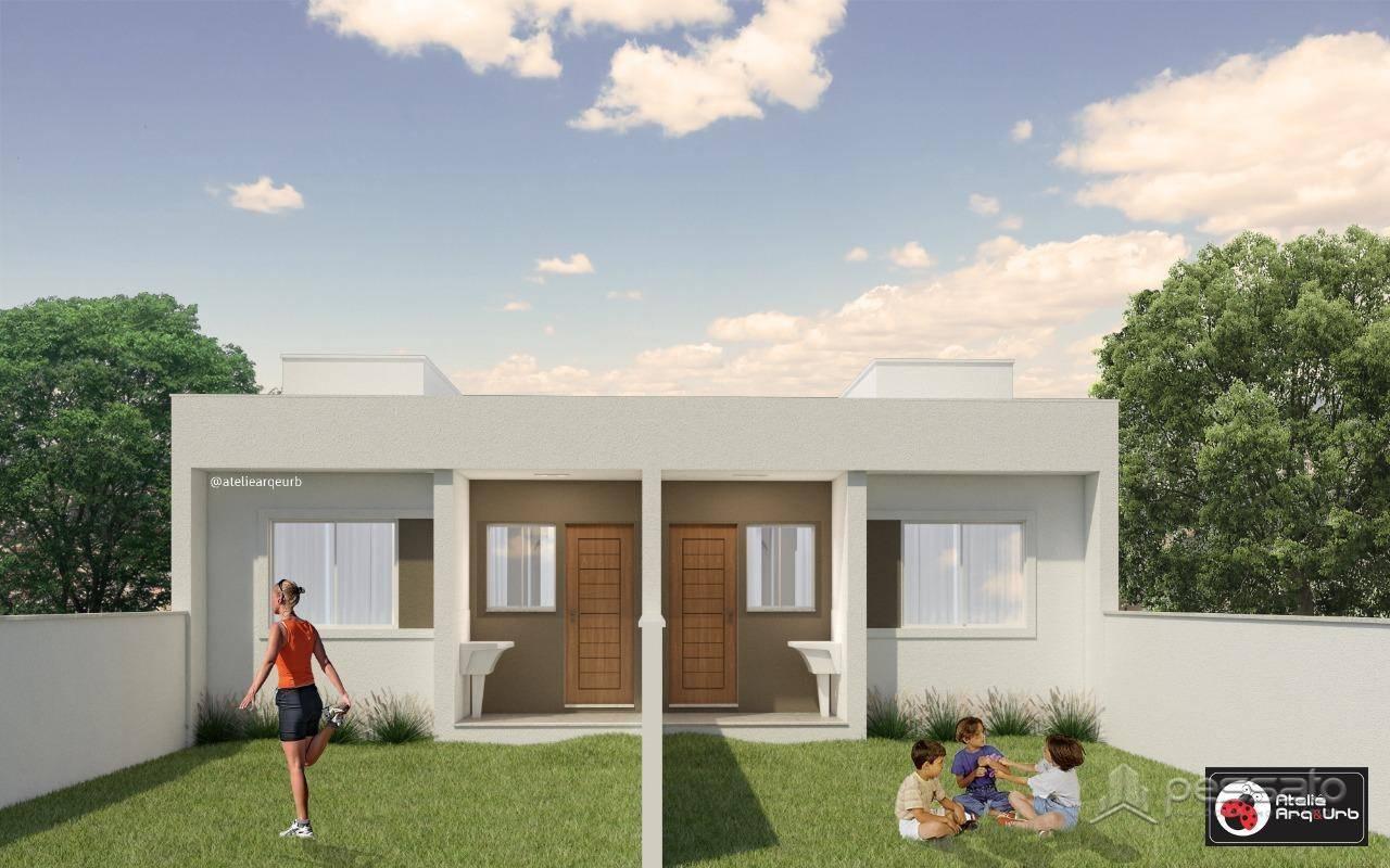 casa 2 dormitórios em Gravataí, no bairro Granville