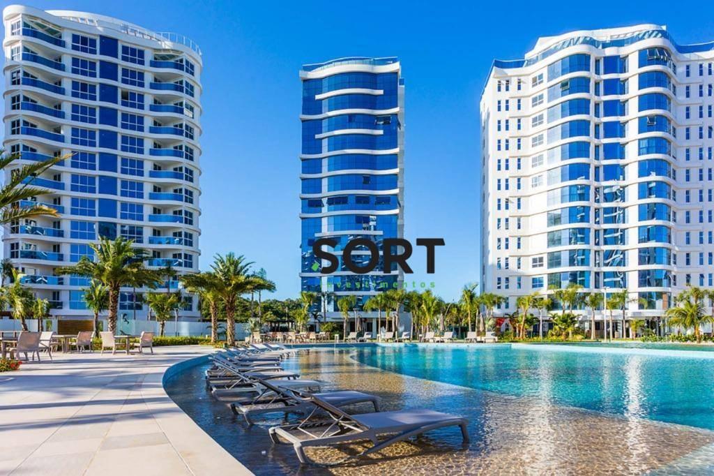 Brava Home Resort, apartamento VISTA MAR, 3 suítes, 3 vagas de garagem!
